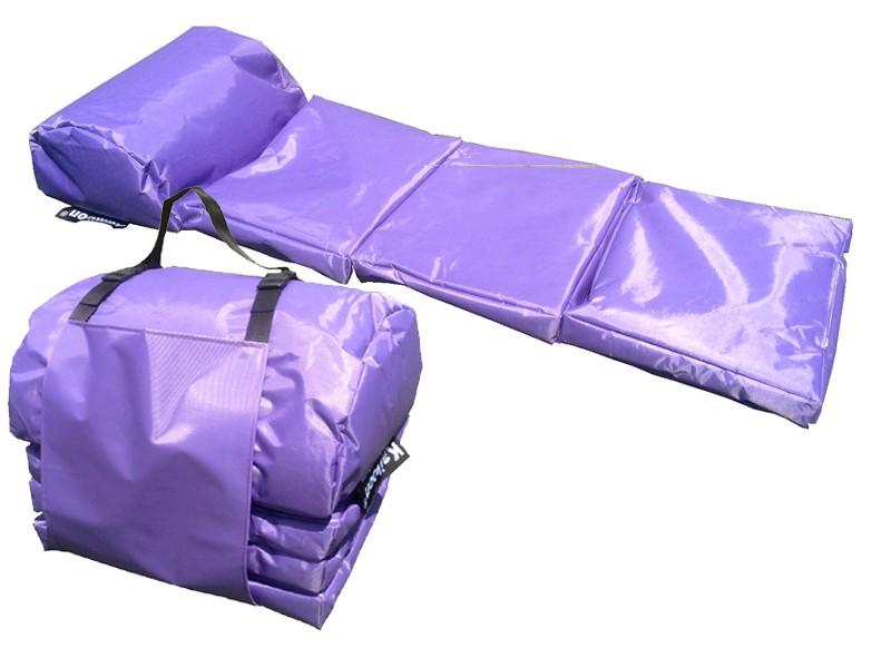 outdoor matratze easy farbe lila faltmatratze. Black Bedroom Furniture Sets. Home Design Ideas