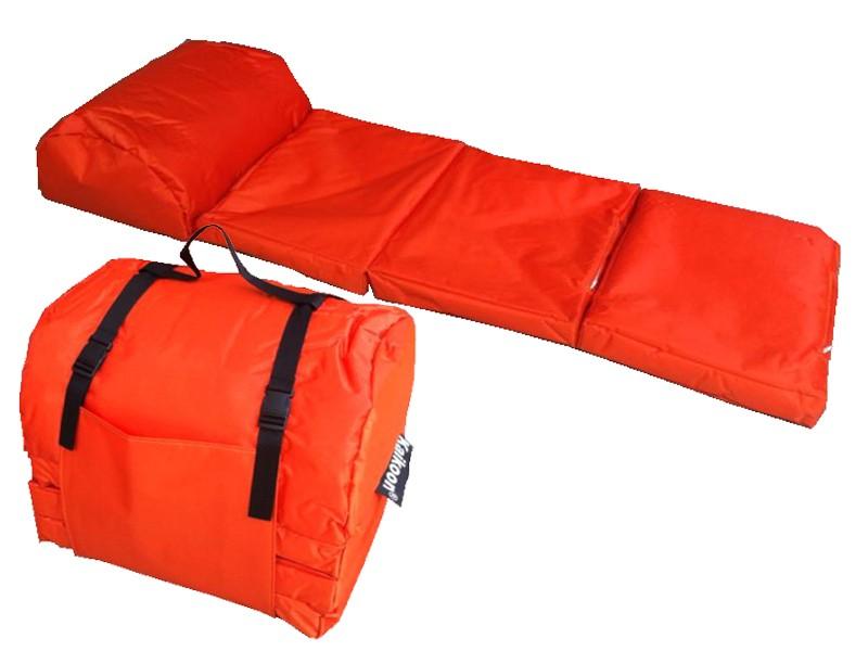outdoor matratze easy farbe orange faltmatratze. Black Bedroom Furniture Sets. Home Design Ideas